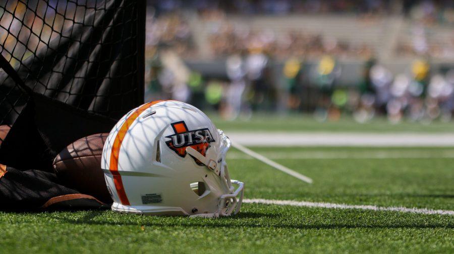 UTSA Football helmet