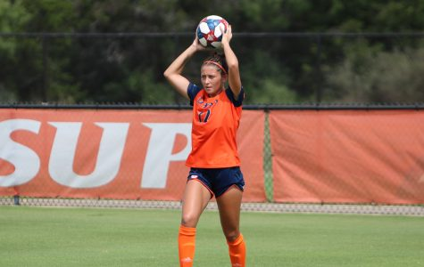 Soccer picks up first conference win