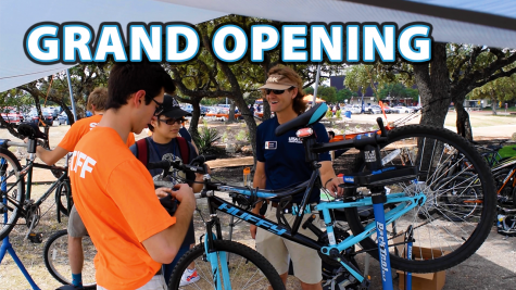 Tito Bradshaw Bicycle Repair Shop Grand Opening