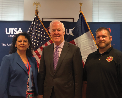 Texas senator meets with UTSA veterans