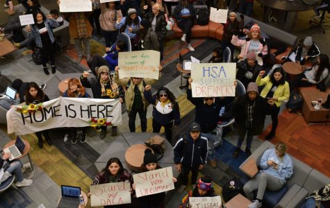 Students show support for DACA