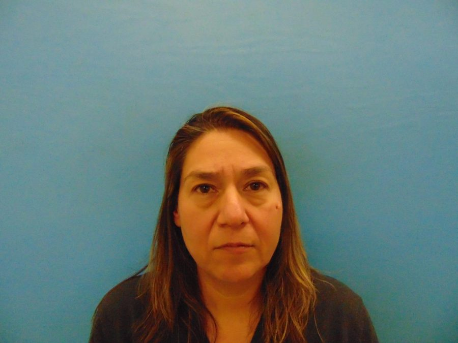 Mugshot of Rose Rodriguez-Rabin. Photo courtesy of Guadalupe County Records
