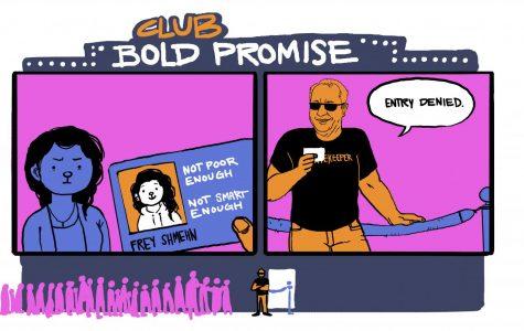 Bold Promise or bold scholarship?