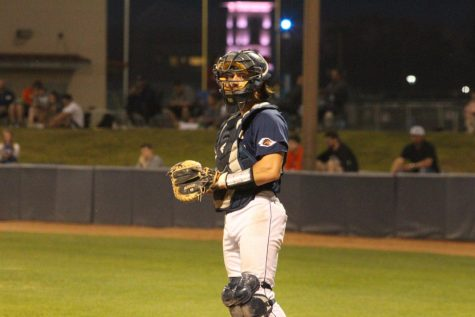 Nick Thornquist is the senior catcher for the baseball team. He is beginning his second season for the Roadrunners.
