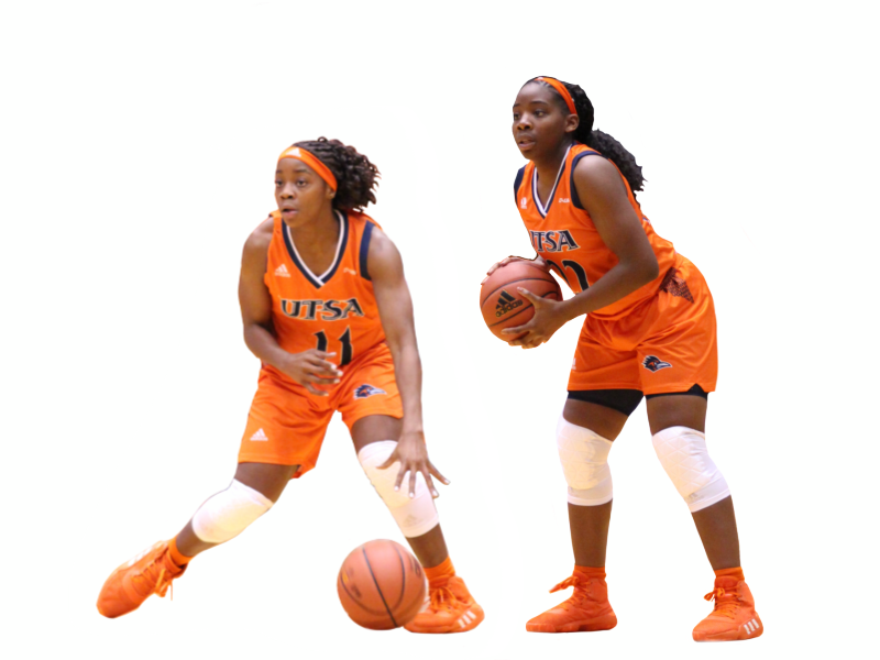 The Mass sisters: A unique UTSA basketball duo