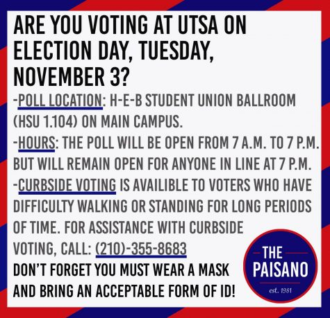 How to vote at UTSA on Election Day