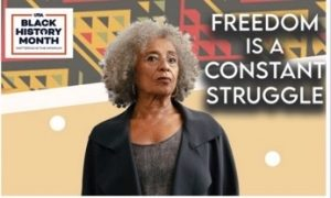 Dr. Angela Davis speaks on freedom and activism