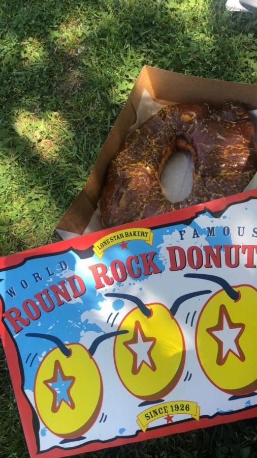 It's not a boulder, it's a Round Rock
