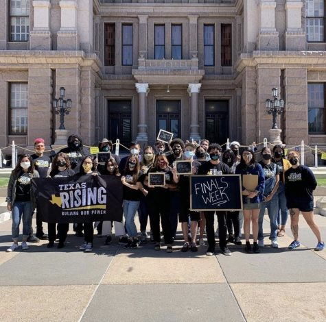 Texas Rising registers voters and travels to the Capitol. Photo Courtesy of Christopher Garana