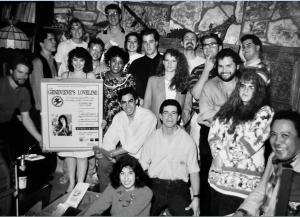 The Paisano staff and editors celebrate the end of the semester in 1992. File photo/The Paisano